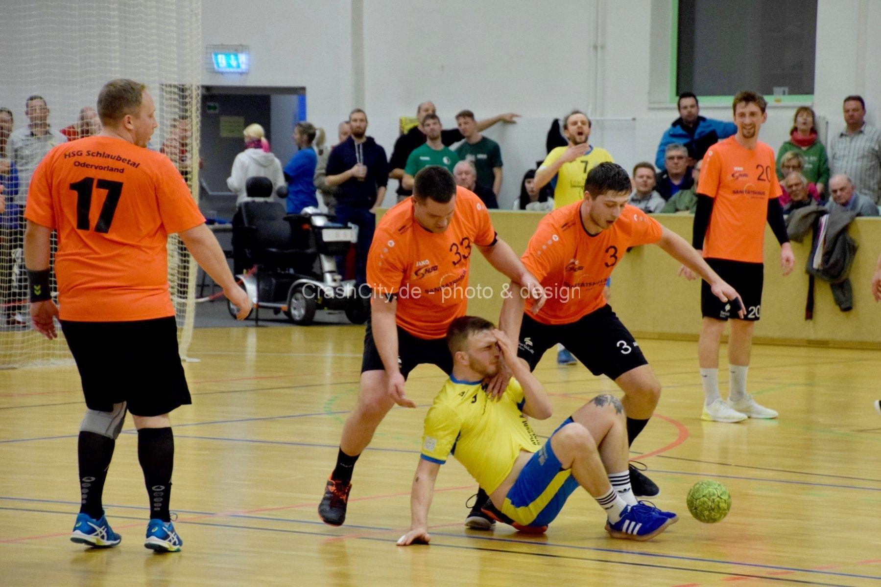 Handball Schlaubetal